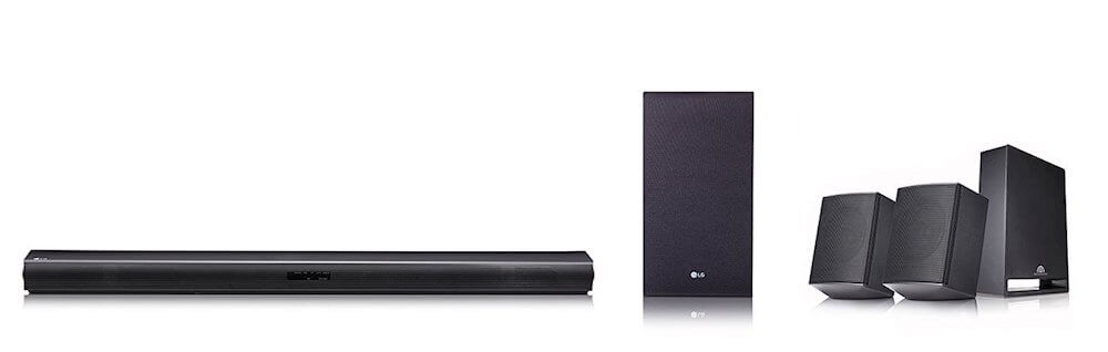 LG SJ4R 4.1 Surround Soundbar Test