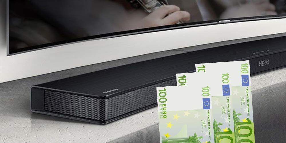 soundbar bis 300 euro die besten modelle. Black Bedroom Furniture Sets. Home Design Ideas