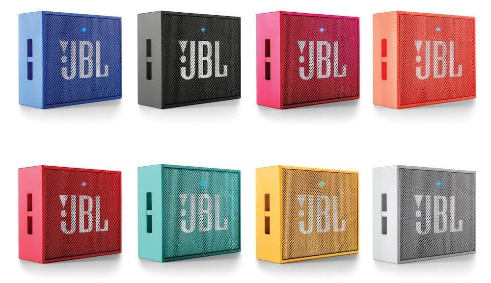 Alle Farben der JBL Go