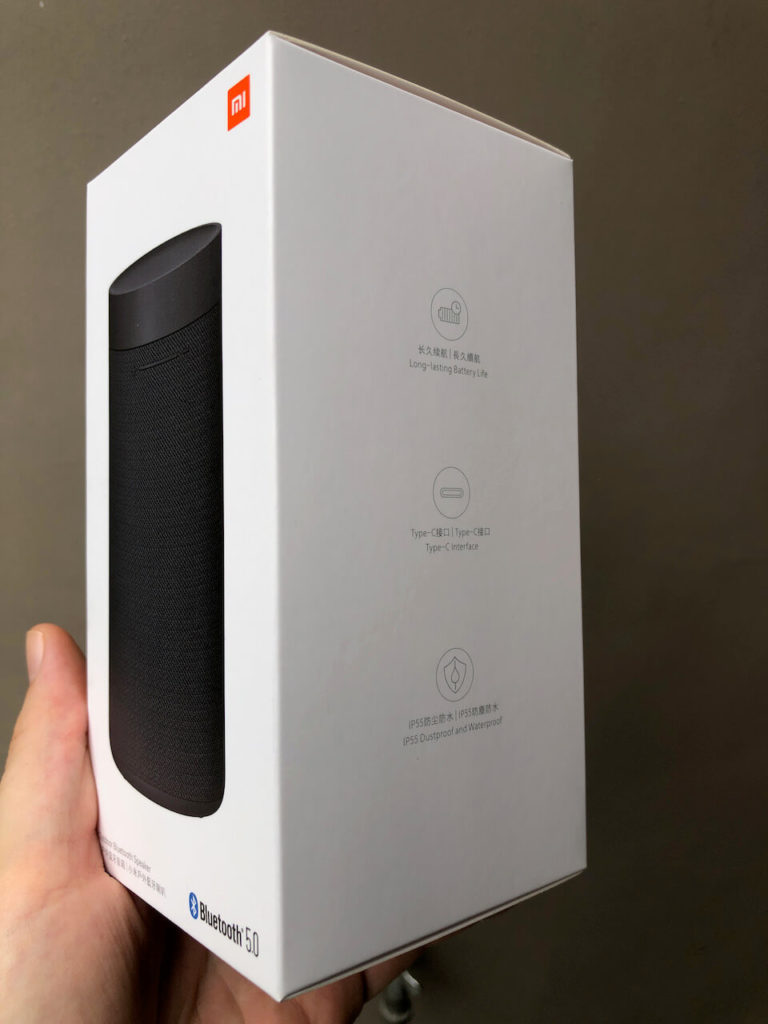 Xiaomi Mi Outdoor Bluetooth Speaker Verpackung