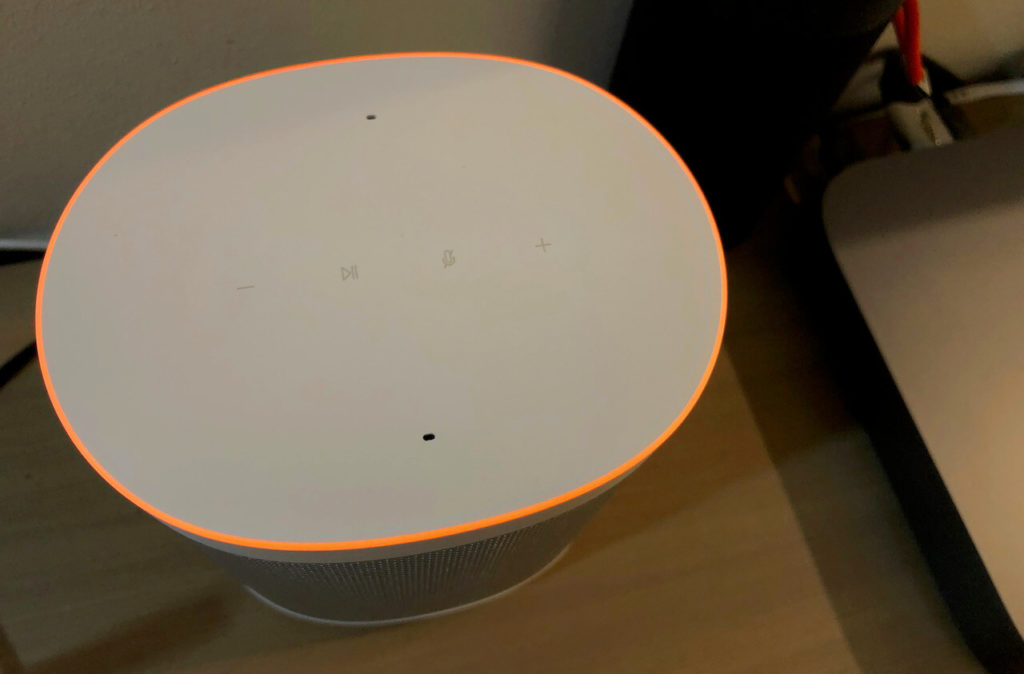 Xiaomi Smart Speaker Bedienung