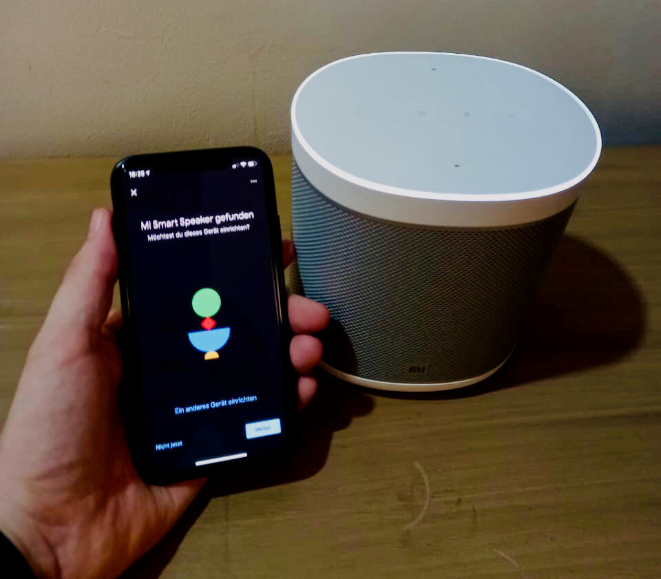 Xiaomi Smart Speaker Einrichtung